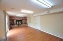 Family Room Brick Raised Hearth Fireplace! - 4311 WENDY CT, MONROVIA