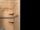 custom shower 2nd bath - 12222 DORRANCE CT, RESTON