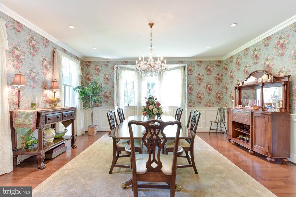Elegant dining room - 5937 TELEGRAPH RD, ALEXANDRIA