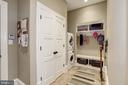 2 car garage to mudroom and first washer/dryer - 6537 36TH ST N, ARLINGTON