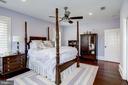 3rd bedroom with wood floors, recessed lighting - 6537 36TH ST N, ARLINGTON