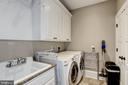 two closets, cabinets, utility sink, tile floor - 6537 36TH ST N, ARLINGTON