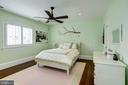 2nd bedroom with wood floors, plantation shutters - 6537 36TH ST N, ARLINGTON
