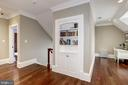 wood floors continue from main to upper level - 6537 36TH ST N, ARLINGTON