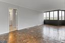 Living Room - 1718 P ST NW #802, WASHINGTON