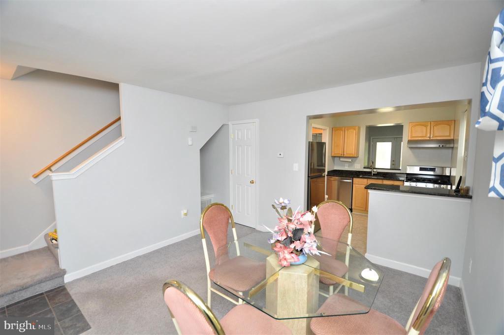 Living Room / Dining Room - 4315 POLK ST NE, WASHINGTON
