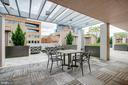 Another view of the Rooftop Terrace - 4901 HAMPDEN LN #306, BETHESDA