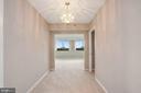 Front hall looking thru living room - 5501 SEMINARY RD #611S, FALLS CHURCH