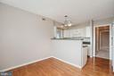 Eat-in area of kitchen - 5501 SEMINARY RD #611S, FALLS CHURCH