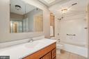 Master bath - 5501 SEMINARY RD #611S, FALLS CHURCH