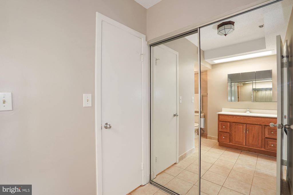 Master bath & dressing room - 5501 SEMINARY RD #611S, FALLS CHURCH
