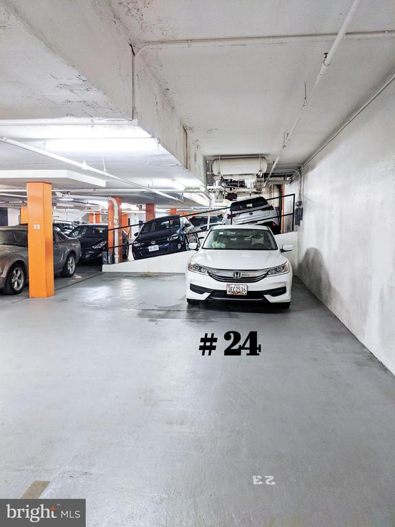 Reserved Garage Parking Available for Purchase - 1718 P ST NW #802, WASHINGTON