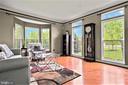 Living Room Full of Windows - 5442 EAGLE OWL CT, WALDORF