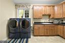 Main Level Laundry Room - 5442 EAGLE OWL CT, WALDORF