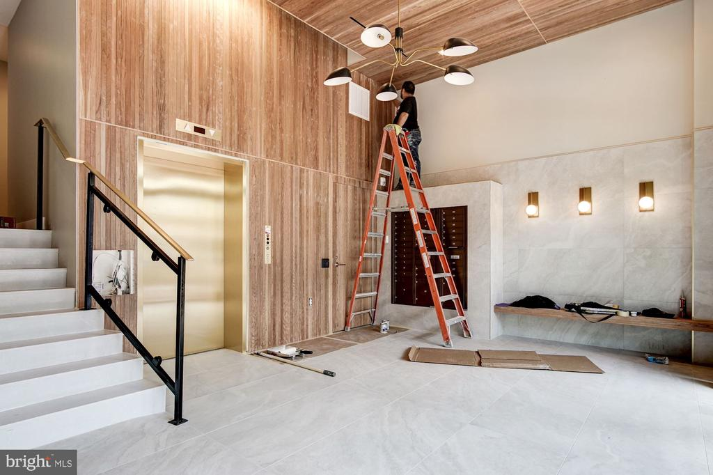 Almost done!  Package room, too. - 801 N NW #303, WASHINGTON