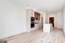 Open floor plan with good wall space - 801 N NW #303, WASHINGTON