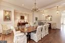 Dining Room - 11500 DALYN TER, POTOMAC