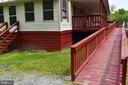 Ramp to Front Porch - 20 BUTTERCUP LN, STAFFORD
