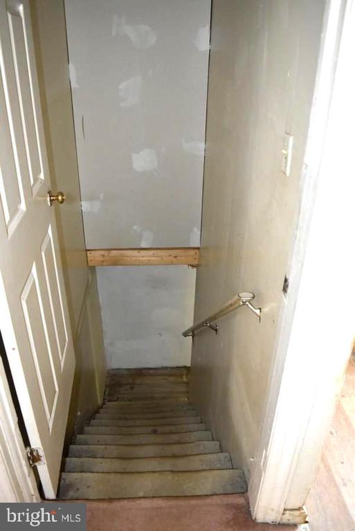 Stairs to Basement - 20 BUTTERCUP LN, STAFFORD
