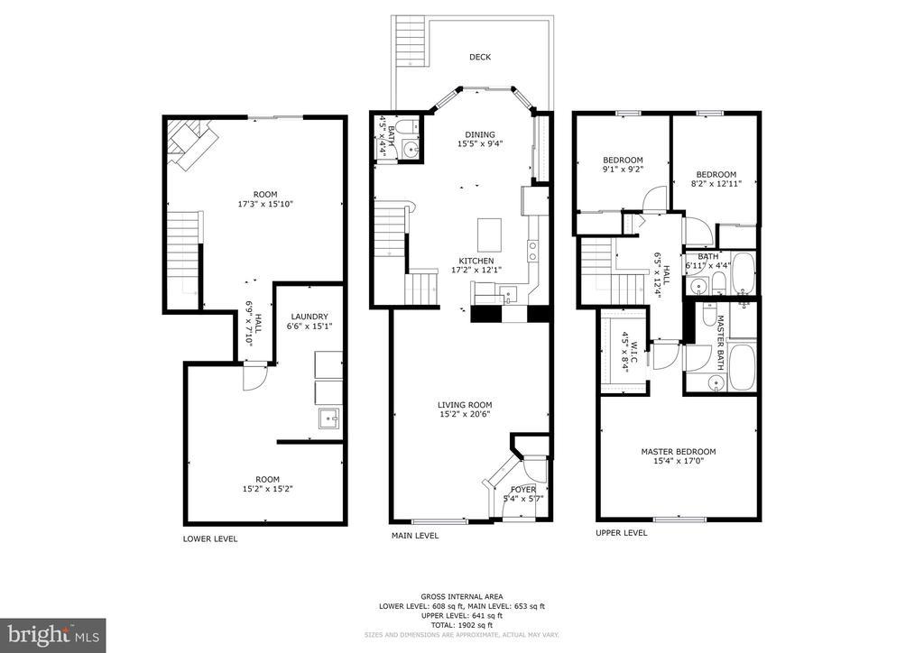 Floor Plan - 8405 GLAD RIVERS ROW, COLUMBIA