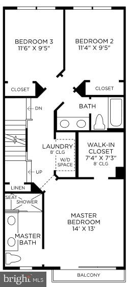 Bedroom Level - 11746 SUNRISE VALLEY DR, RESTON
