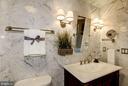 Porcelain vanity  top. - 1021 N GARFIELD ST #409, ARLINGTON