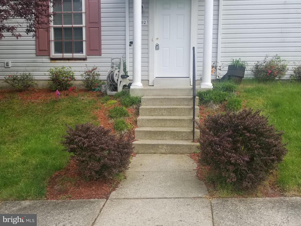 Exterior Front - 4102 CANDY APPLE LN #1, SUITLAND