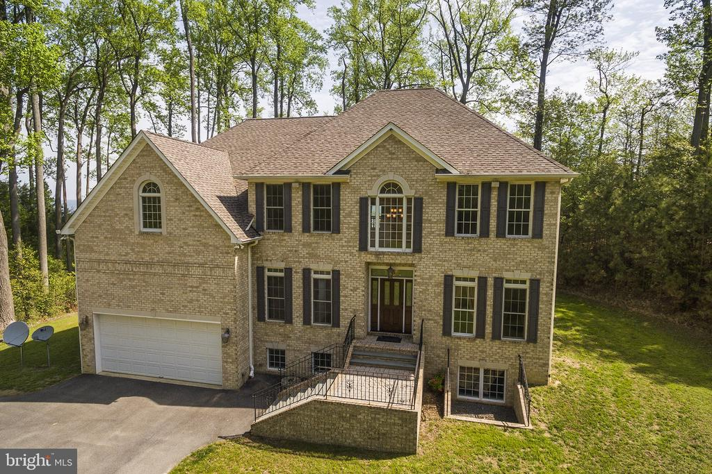 Custom home with three finished levels - 825 CAMP CONOY RD, LUSBY