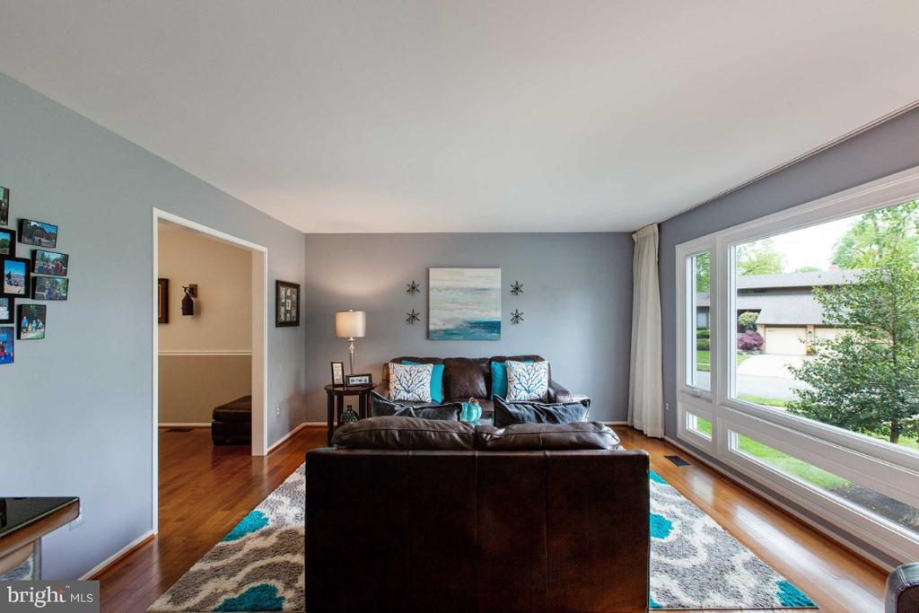 Light & Bright Living Room - 6505 CRAYFORD ST, BURKE