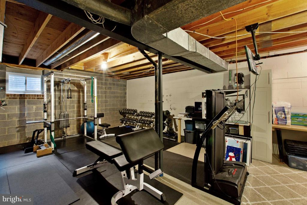 Huge Storage Area, perfect for Home Gym - 6505 CRAYFORD ST, BURKE