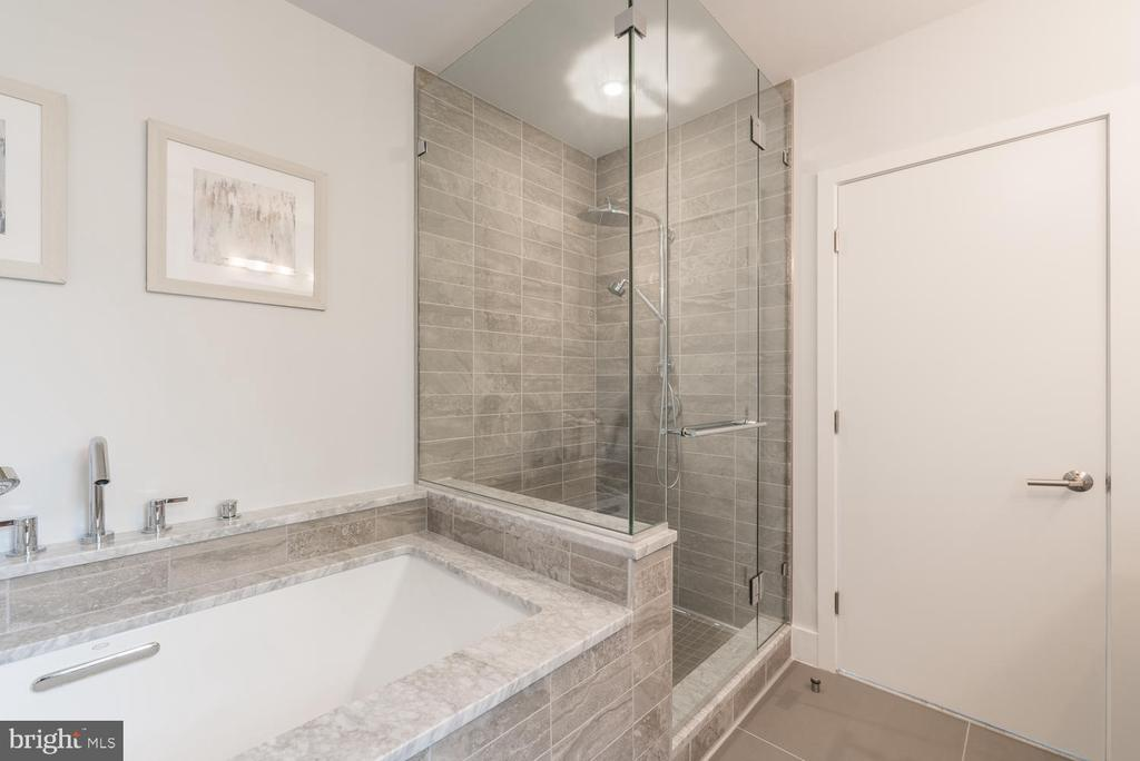 Marble Bath and Shower - 2709 N ST NW #103, WASHINGTON