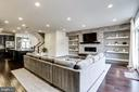 Built In Shelves and Custom Stone Fireplace - 148 MERRIMACK WAY, ARNOLD