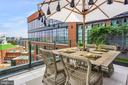Outdoor dining - 45 SUTTON SQ SW #1116, WASHINGTON