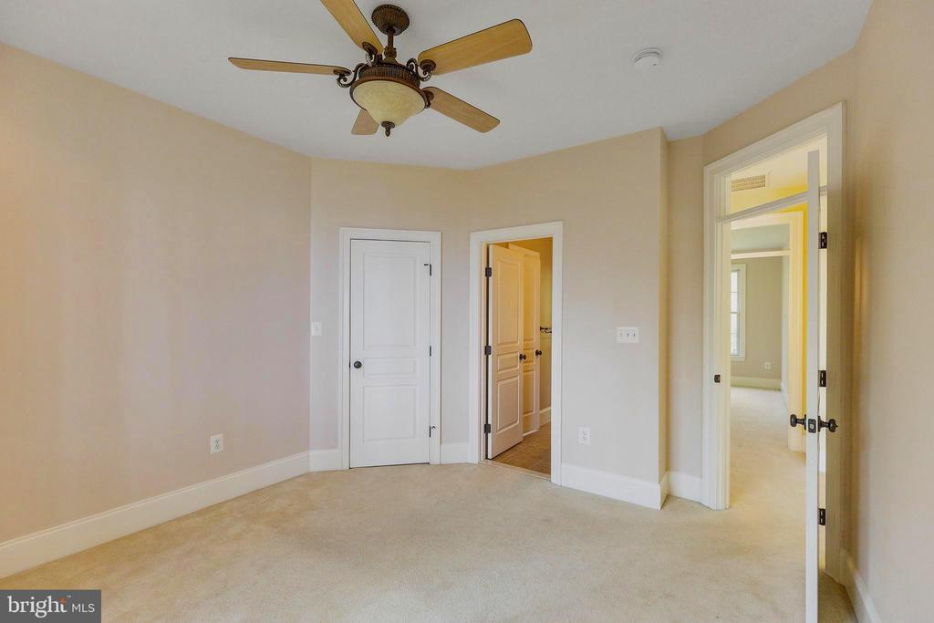 Bedrooms have ceiling fans and large closets - 825 CAMP CONOY RD, LUSBY