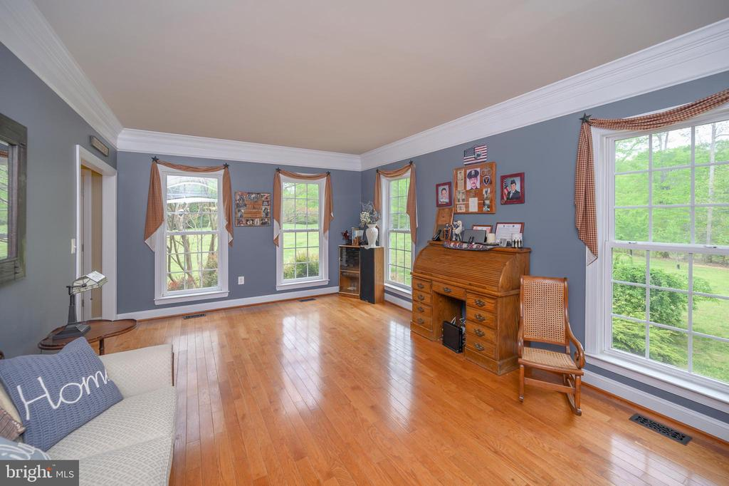 Open and bright living room area - 14616 JUNCTION CT, FREDERICKSBURG