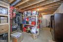 custom built storage area - 14616 JUNCTION CT, FREDERICKSBURG