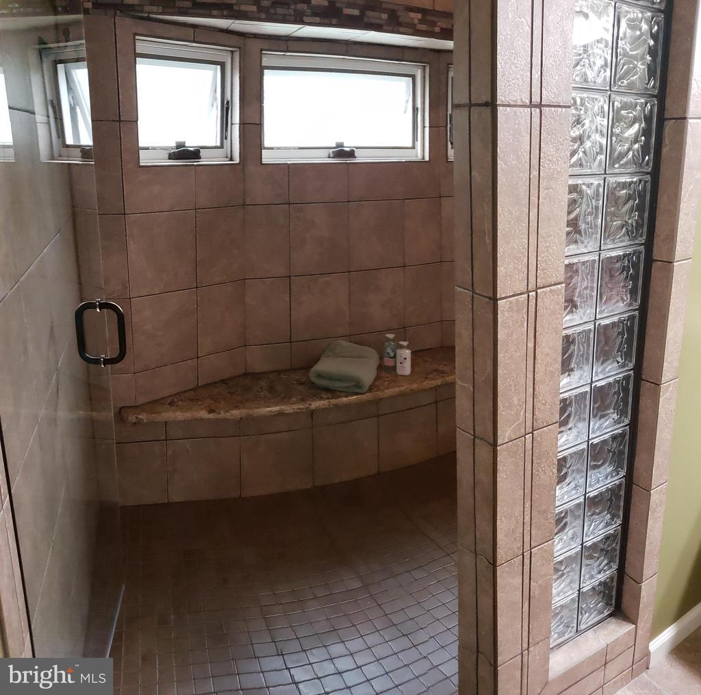 Master Bathroom Shower/Spa w Frameless Glass Door - 2714 JAY BIRD CT, KNOXVILLE
