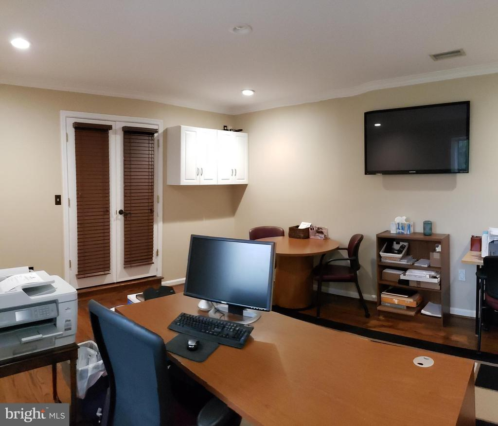 Office with French Doors and Hardwood Floors - 2714 JAY BIRD CT, KNOXVILLE