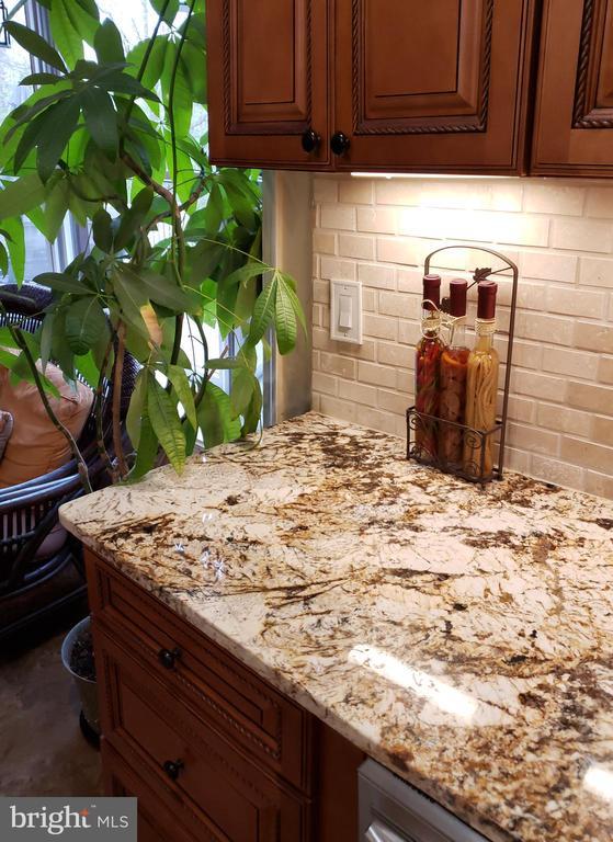 Kitchen w/ Newer CTops/Cabinets/Back Splash - 2714 JAY BIRD CT, KNOXVILLE