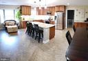 Kitchen with Luxury Vinyl Plank Flooring - 2714 JAY BIRD CT, KNOXVILLE