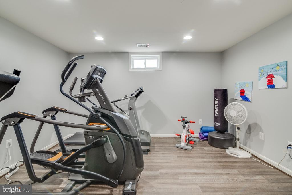 Gym in Basement - 6008 FOX HAVEN CT, WOODBRIDGE