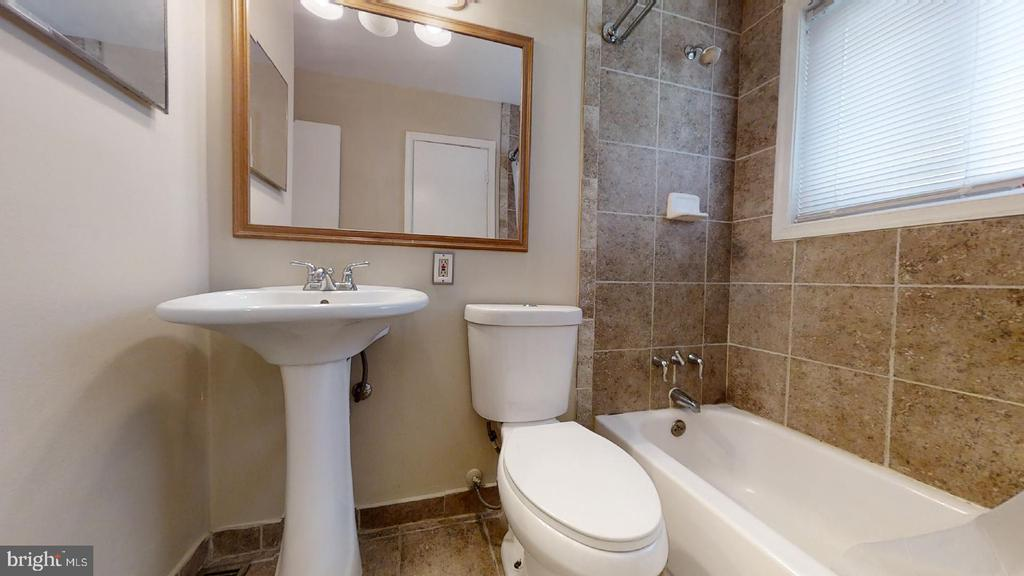 Bathroom 1 (main level) - 7023 INDEPENDENCE ST, CAPITOL HEIGHTS
