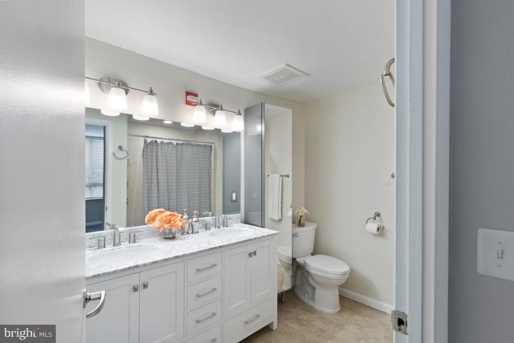 Remodeled Bathroom - 350 G ST SW #N224, WASHINGTON