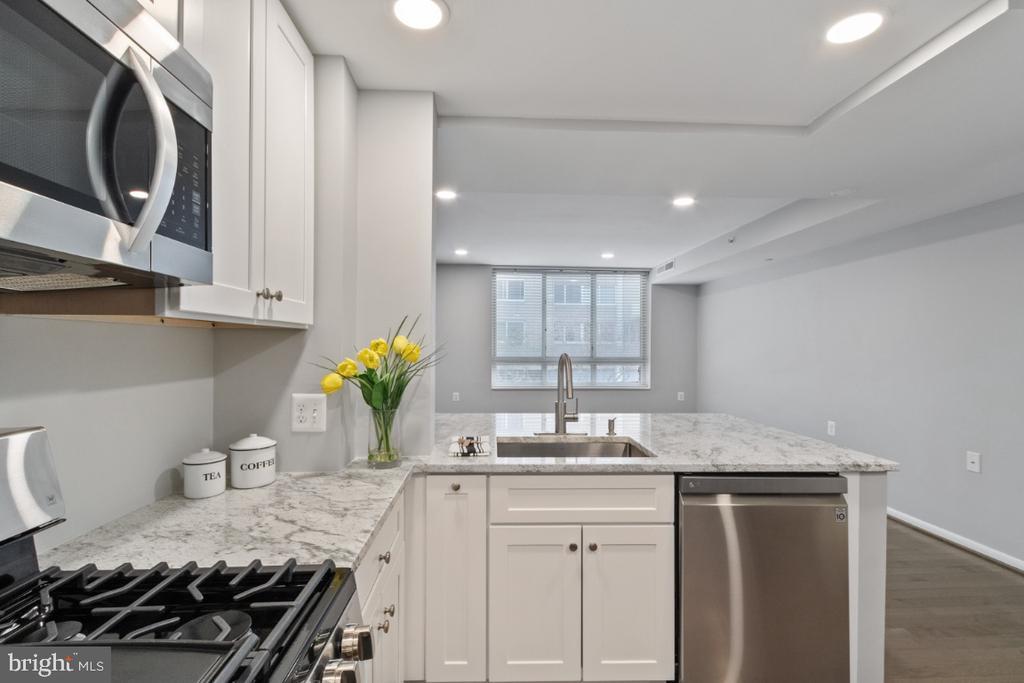 Kitchen - 350 G ST SW #N224, WASHINGTON