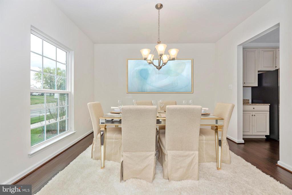 Dining Room has Gorgeous Hardwood Floors - 811 JEFFERSON PIKE, BRUNSWICK