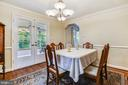 Formal Dining Room - 3340 HIGHWOOD DR SE, WASHINGTON