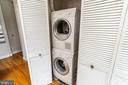 Washer and dryer in unit - 1827 FLORIDA AVE NW #401, WASHINGTON