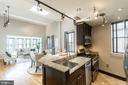 Open concept kitchen - 1827 FLORIDA AVE NW #401, WASHINGTON