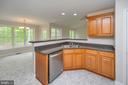 Maple Cabinetry  & Open view kitchen - 228 YORKTOWN BLVD, LOCUST GROVE