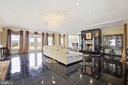 Granite floors that sparkle! - 15929 BRIDLEPATH LN, PAEONIAN SPRINGS
